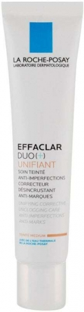 La Roche-posay Effaclar Duo (+) Unifiant Day Cream Medium 40ml (For All Ages)