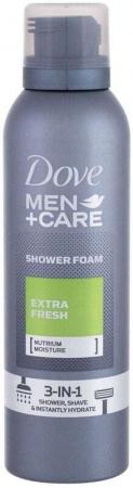 Dove Men + Care Extra Fresh Shower Foam 200ml