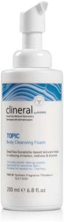 Ahava Clineral Topic Shower Foam 200ml