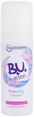 B.u. In Action Pure+Dry Deodorant 50ml (Deo Spray)