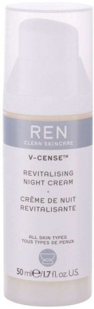 Ren Clean Skincare V-Cense Revitalising Night Skin Cream 50ml (For All Ages)