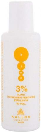 Kallos Cosmetics KJMN Hydrogen Peroxide Emulsion 3% Hair Color 100ml (Colored Hair)