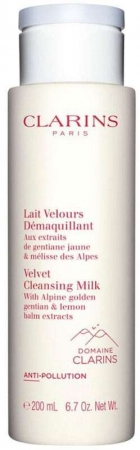 Clarins Velvet Cleansing Milk 200ml
