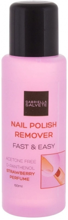 Gabriella Salvete Nail Polish Remover Fast & Easy Nail Polish Remover 100ml