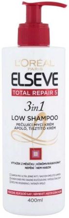 L´oréal Paris Elseve Total Repair 5 Low 3in1 Shampoo 400ml (Damaged Hair - Dry Hair)