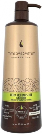Macadamia Professional Ultra Rich Moisture Conditioner 1000ml (Coarse Hair - Curly Hair)