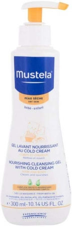 Mustela Bébé Nourishing Cleansing Gel with Cold Cream Shower Gel 300ml