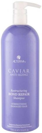 Alterna Caviar Anti-Aging Restructuring Bond Repair Shampoo 1000ml (Damaged Hair)