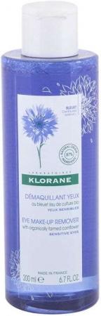 Klorane Cornflower Waterproof Eye Makeup Remover 200ml