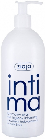 Ziaja Intimate Creamy Wash With Hyaluronic Acid Intimate Cosmetics 500ml