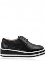 Black Platform Sneakers