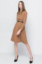 COZY midi Dress With Slim Belt