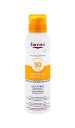 Eucerin Sun Sensitive Protect Sun Spray Dry Touch Sun Body Lotion 200ml Waterproof Spf30