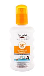 Eucerin Sun Kids Sensitive Protect Sun Spray Sun Body Lotion 200ml Waterproof Spf50+
