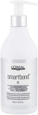 L´oréal Professionnel Smartbond Bond Strengthening System Step 2 Pre Shampoo Hair Mask 500ml (Colored Hair)