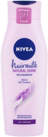Nivea Hair Milk Natural Shine Mild Shampoo 400ml