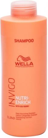 Wella Professionals Invigo Nutri-Enrich Shampoo 1000ml (All Hair Types)