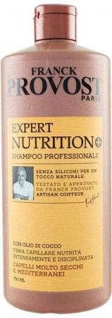 Franck Provost Paris Shampoo Professional Nutrition+ Shampoo 750ml (Dry Hair)