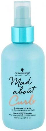 Schwarzkopf Mad About Curls Quencher Oil Milk 200ml