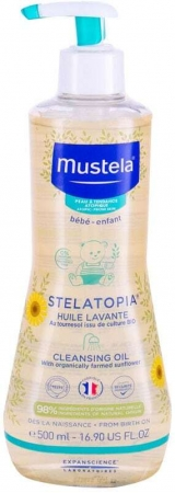 Mustela Bébé Stelatopia Shower Oil 500ml