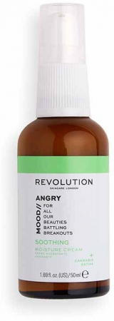 Revolution Skincare Angry Mood Soothing Day Cream 50ml (For All Ages)
