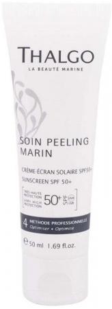 Thalgo Soin Peeling Marin Sunscreen SPF50+ Face Sun Care 50ml