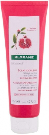 Klorane Pomegranate Color Enhancing Leave-in Hair Care 125ml (Colored Hair - Sun Damaged Hair)