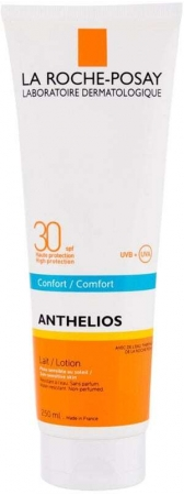 La Roche-posay Anthelios Comfort SPF30 Sun Body Lotion 250ml (Waterproof)