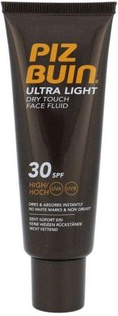 Piz Buin Ultra Light Dry Touch Face Fluid SPF30 Face Sun Care 50ml Damaged Box
