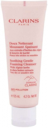 Clarins Soothing Gentle Cleansing Cream 125ml