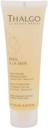 Thalgo Éveil a la Mer Cleansing Gel-Oil Face Cleansers 125ml (Alcohol Free)