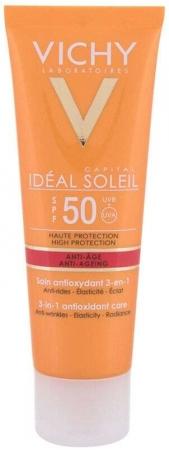 Vichy Idéal Soleil Anti-Ageing 3-in-1 SPF50 Face Sun Care 50ml