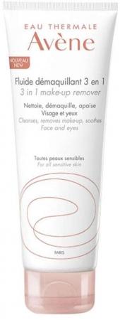 Avene Sensitive Skin 3in1 Face Cleansers 200ml (Alcohol Free)