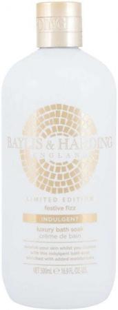 Baylis & Harding Festive Fizz Indulgent Bath Soak Limited Edition Bath Foam 500ml