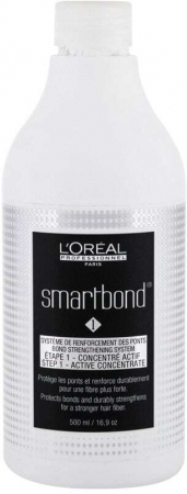 L´oréal Professionnel Smartbond Bond Strengthening System Step 1 Active Concentrate Hair Color 500ml (Colored Hair)