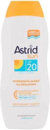 Astrid Sun Moisturizing Suncare Lotion SPF20 Sun Body Lotion 400ml (Waterproof)