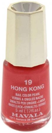 Mavala Mini Color Pearl Nail Polish 19 Hong Kong 5ml