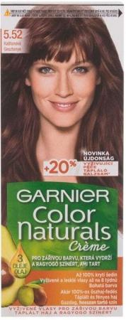 Garnier Color Naturals Créme Hair Color 5,52 Chestnut 40ml (Colored Hair - All Hair Types)