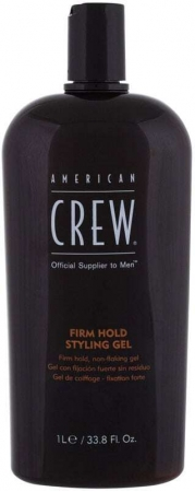 American Crew Style Firm Hold Styling Gel Hair Gel 1000ml (Strong Fixation)
