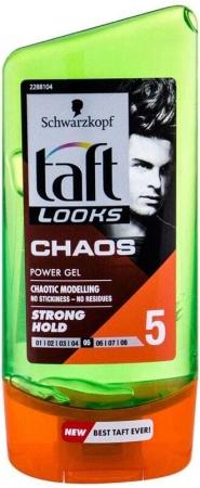Schwarzkopf Taft Chaos Power Gel Hair Gel 150ml (Medium Fixation)