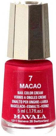Mavala Mini Color Cream Nail Polish 7 Macao 5ml