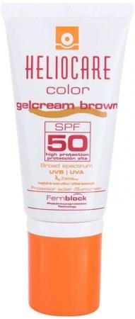 Heliocare Color Gelcream SPF50 Face Sun Care Brown 50ml