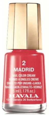 Mavala Mini Color Cream Nail Polish 2 Madrid 5ml