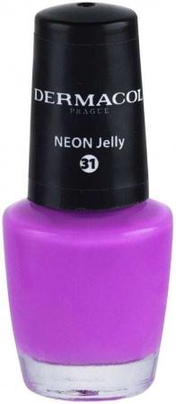 Dermacol Neon Nail Polish 31 Neon Jelly 5ml