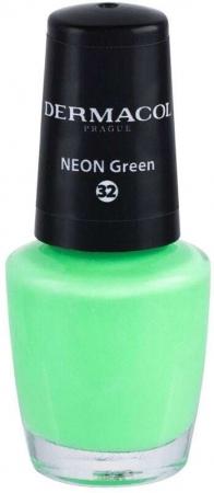 Dermacol Neon Nail Polish 32 Neon Green 5ml