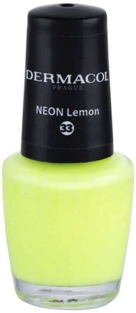 Dermacol Neon Nail Polish 33 Neon Lemon 5ml