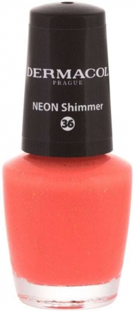Dermacol Neon Nail Polish 36 Neon Shimmer 5ml