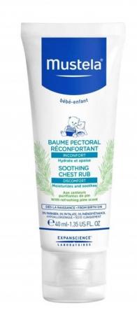 Mustela Bébé Soothing Chest Rub Body Balm 40ml