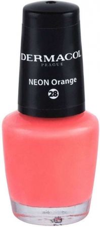 Dermacol Neon Nail Polish 28 Neon Orange 5ml