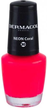 Dermacol Neon Nail Polish 30 Neon Coral 5ml